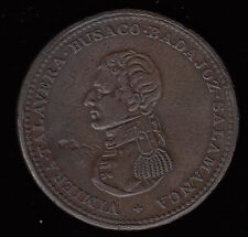 Wellington Tokens - Breton #985 Cossack Penny - Terrific Condition