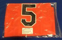 Brooks Robinson Autographed Signed Baltimore Orioles XL Jersey w/ Leaf COA HOF