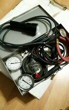 vintage.  vacuum gauge ,compression gauge,timinglight and starter button