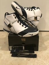 Nike Zoom Lebron 5  V Soldier Air Max Lakers Cavs King Midnight Navy Sz 12