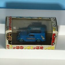 Vintage 1:43 RIO #54 Fiat 500 Van Mint Boxed Made in Italy Campari Livery
