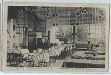 CARTOLINA 1934 CARDANO AL CAMPO CAFFE RISTORANTE S. PIETRO 232/A