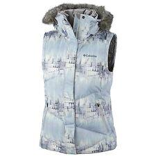 Columbia Women Winter Down Omni Heat  Lay D Hood Vest XL
