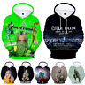 Billie Eilish  3D Hoodie Mens Womens Sweater Sweatshirt Jacket Pullover Tops