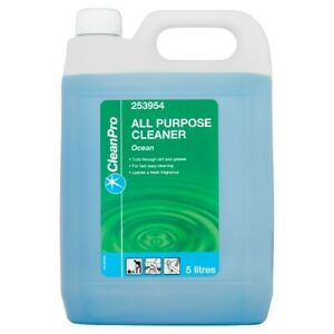 Clean Pro Ocean All Purpose Cleaner 5 Litres Cleaning Takeaway Restaurant Cafe