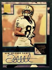 2001 TOPPS RESERVE JOE HORN #TR-JH AUTO SIGNED NEW ORLEANS SAINTS