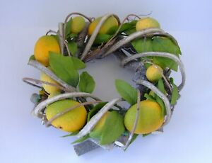 A Lemon Decorative Wreath...Gisella Graham