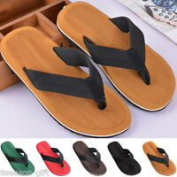 Mens Summer Casual Beach Flip Flops Slippers Sandals Shoes Fashion