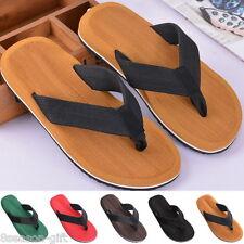 Hombres Suave Informal De Playa Tanga Flops Zapatillas Sandalias Zapatos De Verano Antideslizante
