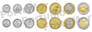 Timor Leste UNC SET OF 7 COINS, 1 5 10 25 50 100 200 Centavos, 2004 2017 BIMETAL