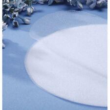 "8-1/2"" Tulle Circles - Iridescent White"