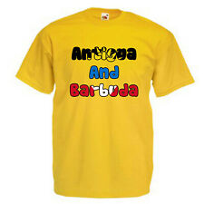 Antigua and Barbuda Adults Unisex Mens T Shirt