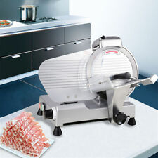 """Large 10"""" in Restaurant Electric Butcher Slicing Deli Meat Cheese Slicer Machine"""