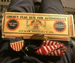 NOS Antique Vintage Auto Parts Hood / Radiator Mounting Part