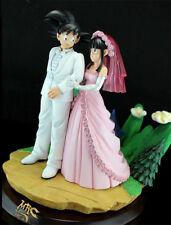 DRAGON BALL Z DBZ GOKU CHICHI WEDDING RESIN GK FIGURE FOR COLLECTION 47cm gifts