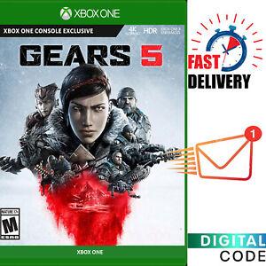 Gears 5 - Microsoft Xbox One Game Digital Key - Global