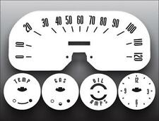 1957-1958 Plymouth Belvedere White Face Gauges 57-58