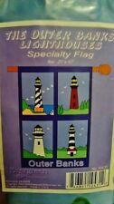 "The OUTER BANKS LIGHTHOUSES  29"" x 45"" Specialty Flag"