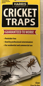 Harris Cricket Traps 2-Pk Large Size Professional Pesticide Free