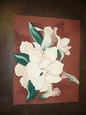 Magnolia art print limited edition signed and numbered
