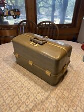 Vintage Umco 2000 Bw Tackle Box Full Fishing Tackle Lures Estate Find
