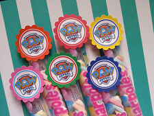 20 Paw patrol marshmallow party favors, goodie bag fillers, candy buffet