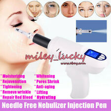 Nebulizer Injection Pen Hyaluronic Acid Micro Mesotherapy Gun Wrinkle Removal