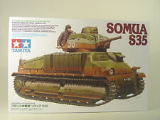 Französischer Panzer SOMUA S35  - Tamiya Panzer  Bausatz 1:35 - 35344  #E