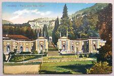 Cernobbio *Parco della Villa d´Este *ungel. * Comer See