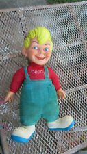Vintage Talking Beany Boy Talking Doll Mattel and Cecil