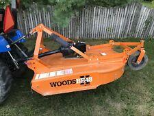 Woods Brushbull Rotary Cutter 48 Bb48xc Clutch Drive No Reserve Brushhog Mower