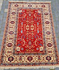 Hand Knotted Rug Carpet 5'x7' Handmade Wool New Traditional Old Antique Oriental