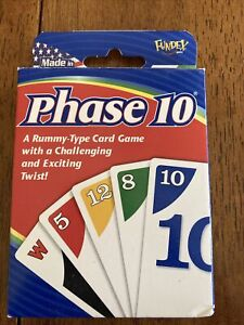 Funded Phase 10 Card Game