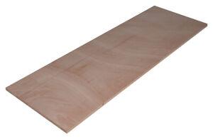Deckelplatte aus Tischlerplatte 149x49cm, für großen Sprungkasten