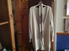 Ladies Long Cardigan and Scarf size 18 (New)