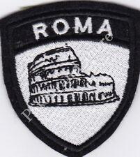 [Patch] SCUDETTO ROMA COLOSSEO cm 6 x 7 toppa ricamata ricamo termoadesiva -1099