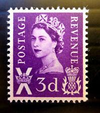 Gb Escocia 1960 - 3d - 2 Bandas sg1p Menta desmontado Nuevo Precio de venta Fp800