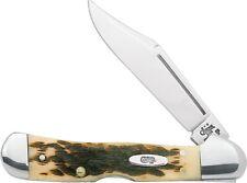 Case 133 Amber Bone PCH Seed Jig Mini Copperlock 61749l SS