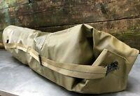 """- NEW - Rubberized Military Duffel Bag Heavy Duty Waterproof Vinyl 55""""Lx13-1/2""""W"""