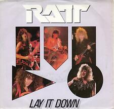 RATT  Lay It Down / Got Me On The Line 45 with PicSleeve