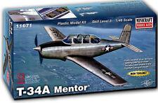 Minicraft Beechcraft T-34A Mentor 1/48 Plástico Avión Modelo Kit 11671