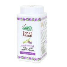Snake Brand Prickly Heat Cooling Powder Relaxing  French Lavender 50 gram
