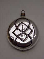 Christbaumschmuck Weihnachtsschmuck Jul Kugel Rune Glas Lauscha Gablonz um 1940