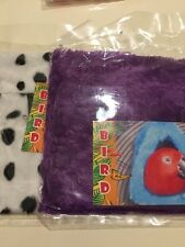 2 Bird Hut Blue Extra LARGE Hanging Happy Hut Tent Plush Parrot Toy Bunk Bed