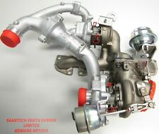 Authentique SAAB 9-3 1.9 TTiD 08-12 1,9 DTR Diesel twin turbo Chargeur-new-93194991