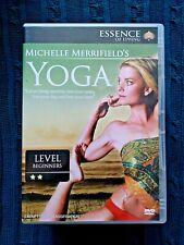 MICHELLE MERRIFIELD'S YOGA – LEVEL BEGINNERS - R-ALL, LIKE NEW, FREE POST