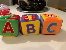 No brand Soft Plush Baby Learning and Development Cubes