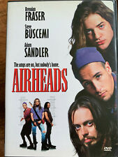 Airheads DVD 1994 Rock Comedy Movie w/ Brendan Fraser + ADam Sandler Region 1