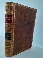 1809 CHOIX LETTRES EDIFIANTES M.*** TOME SECOND MARADAN-NICOLLE PARIS