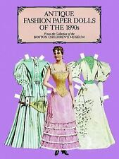 Antique Fashion Paper Dolls of the 1890s Dover Victorian Paper Dolls
